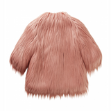 Il Gufo Pink Faux Fur Coat