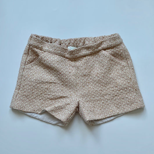 Marie-Chantal Tweed Shorts With Sequins: 10 Years