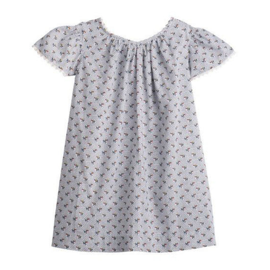 Bonpoint Floral Print Cotton Sundress: 12 Months