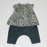 Bonpoint Smocked Liberty Print Baby Blouse