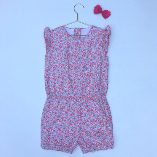 La Coqueta Floral Playsuit: 4 Years
