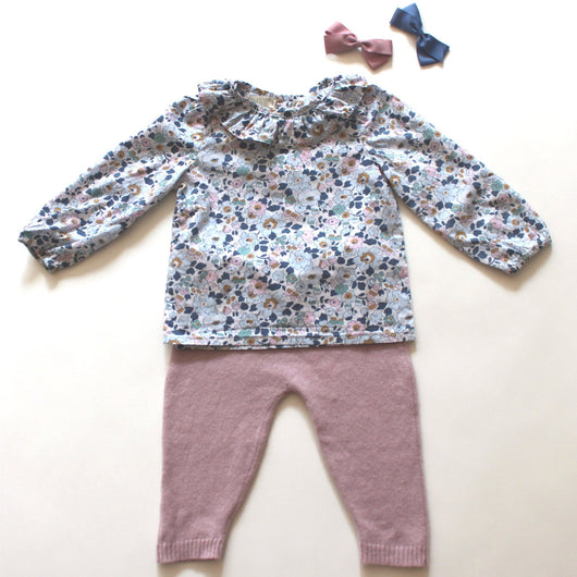 Olivier Baby & Kids Liberty Print Blouse