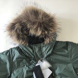 Finger In The Nose Khaki Fur Lined Down Parka: 2-3 Years (Brand New)