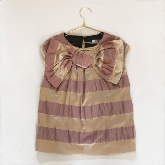 Sonia Rykiel Gold and Lilac Dress: 2 Years