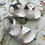 Saltwater Sun-San White Sweetheart Sandals