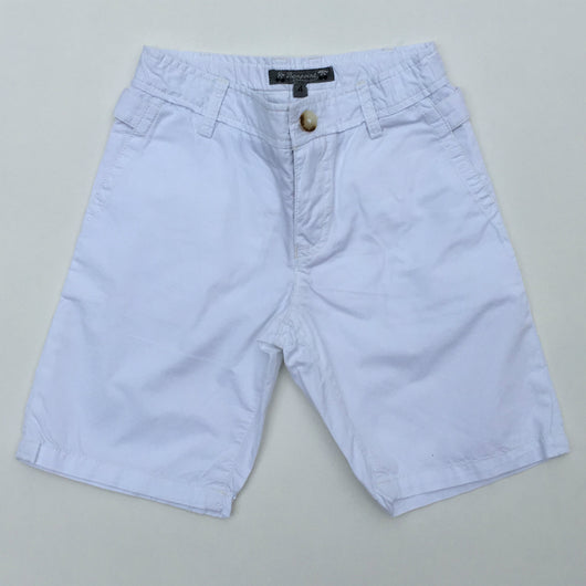 Bonpoint White Boys Summer Shorts