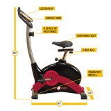Best Fitness BFUB1 Upright Fitness Bike
