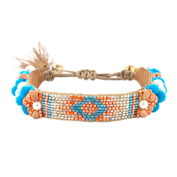Alessia Bracelet Blue Color