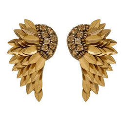 Deepa by Deepa Gurnani Handmade Gold Perry Earrings