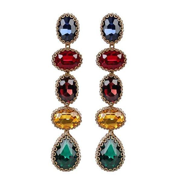 Deepa by Deepa Gurnani Handmade Multicolor Tyra Earrings