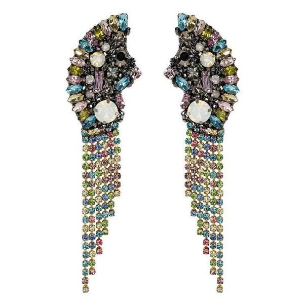 Deepa by Deepa Gurnani Handmade Pastel Multicolor Verity Earrings