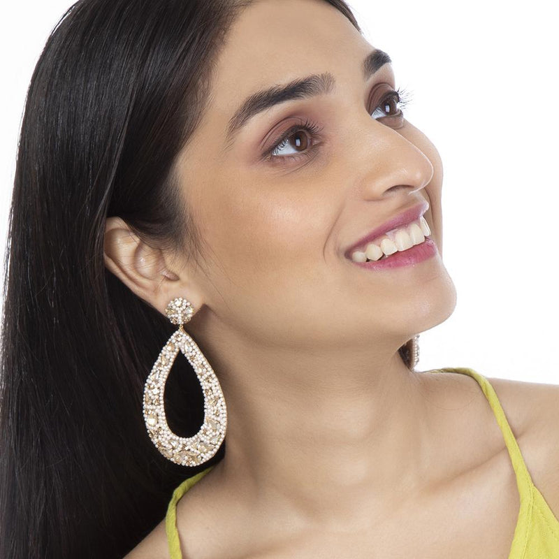 Shop now Geet Earrings by Deepa Gurnani