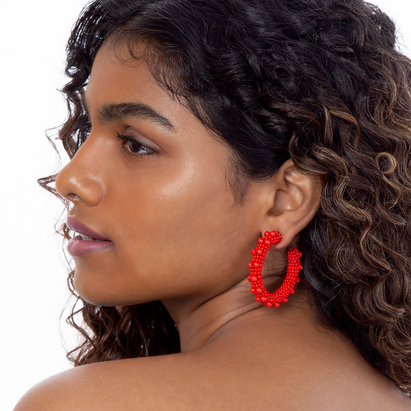 Handmade Luxurious Vidya Earrings Online India