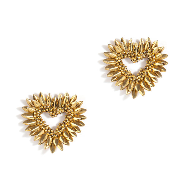 Keya Earrings Gold Color