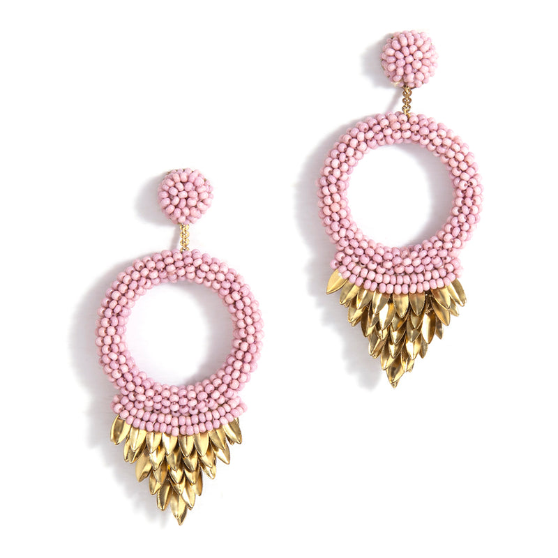 Handmade Luxurious Franka Earrings