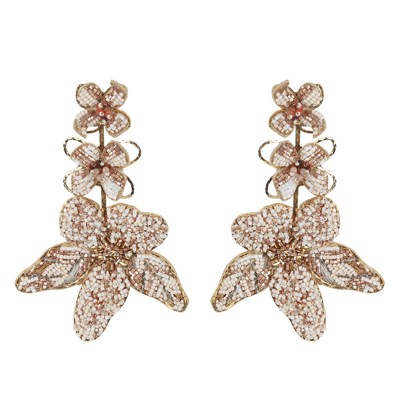 Deepa Gurnani Handmade Wynona Earrings Gold