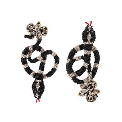 Deepa Gurnani Handmade Harlie Snake Earrings