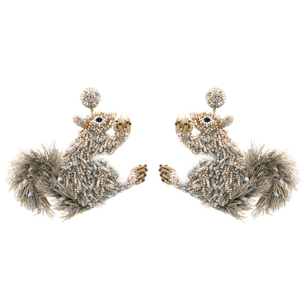 SQUIRREL EARRINGS