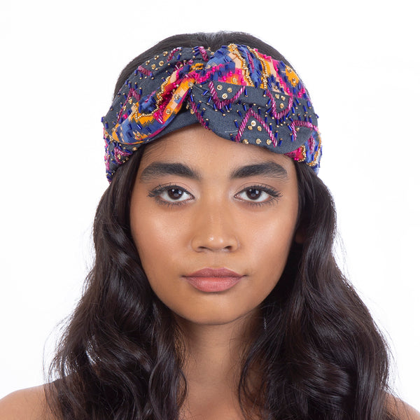 Handmade Vasuki Headwrap India