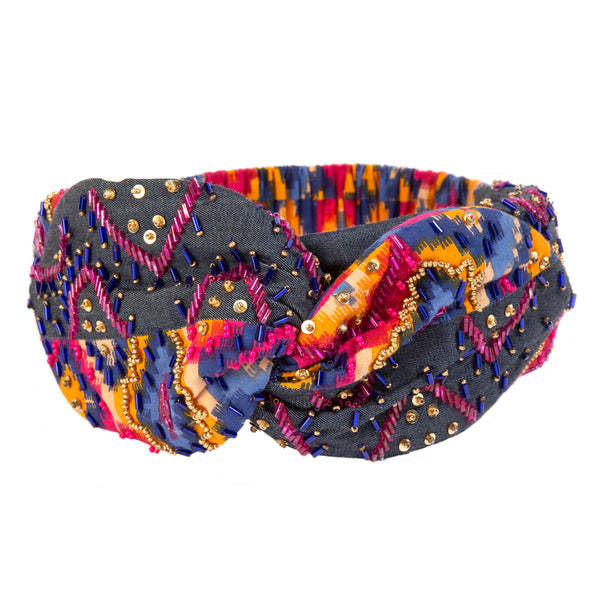 Handcrafted Luxurious Vasuki Headwrap