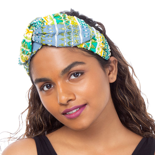 Buy Handcrafted Justine Headwrap India