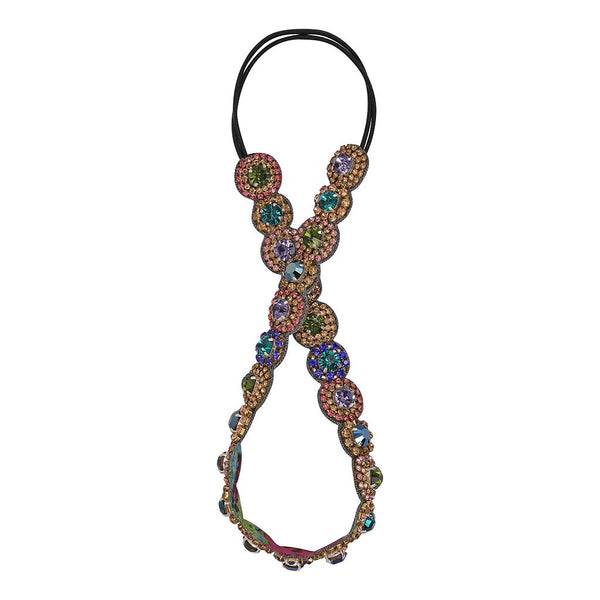Deepa by Deepa Gurnani Handmade Vikki Headband in Multi Color