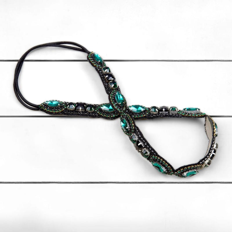 Buy Hand Embroidered Raveena Headband