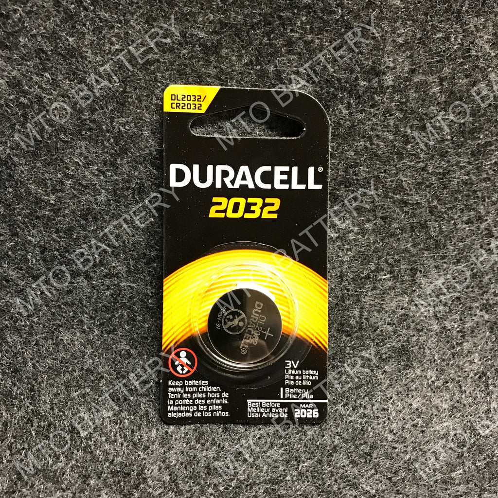 2032 Duracell 3V Lithium Coin Cell DL2032