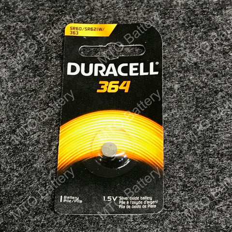 364 Duracell 1.5V Coin Cell