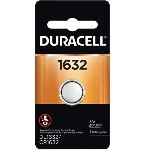 1632 Duracell 3V Lithium Coin Cell DL1632