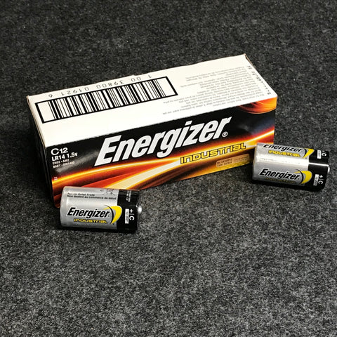 Bulk pack of 12pc of Energizer Industrial Alkaline C cells
