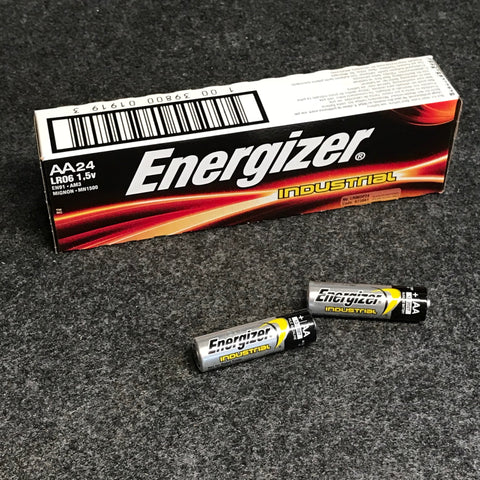 Bulk pack of 24pc of Energizer Industrial Alkaline AA cells