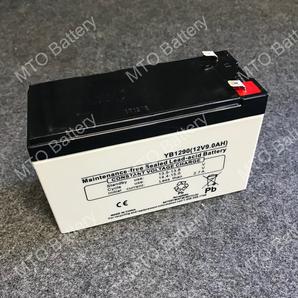 YB1290 F2 PowerSonic 12V / 9Ah AGM Battery LP12-9