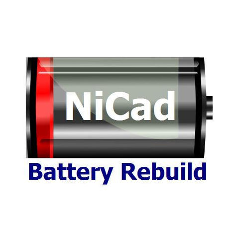 NiCad Power Tool Battery Rebuild Service