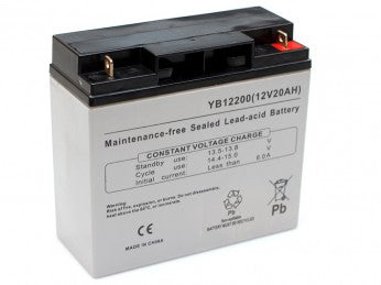 YB12200NB Leoch 12V / 20Ah AGM Battery (LP12-20)