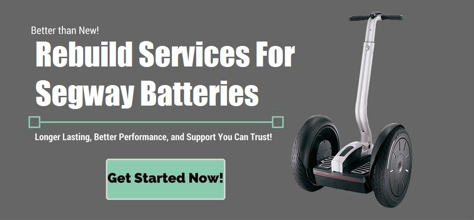 Segway Battery Rebuilds - Better than New