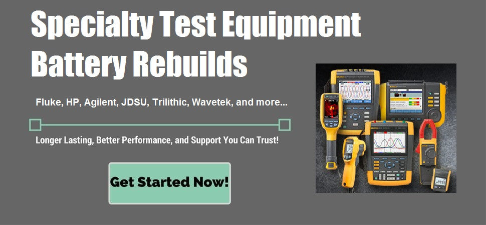 Specialty Test Equipment Battery Rebuilds