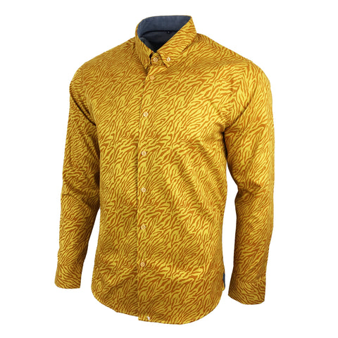 2020 Men's Floral Shirt - Vintage Retro Leopard | Southbank Attire
