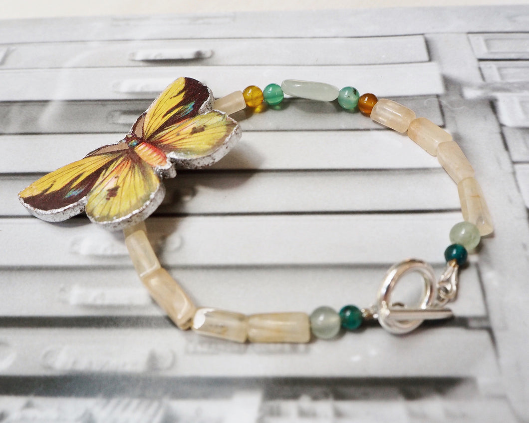 Pulsera Mariposa Tropical