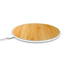 bamboo wireless iphone charging pad
