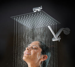 Gordon & Bond Square Showerhead And Adjustable Arm 10''