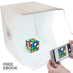 Portable Mini Photo Studio With LED