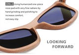 Stylish Bamboo Sunglasses (Men or Women)