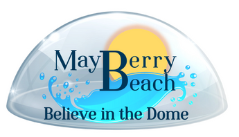 Mayberry Beach Dome Sticker