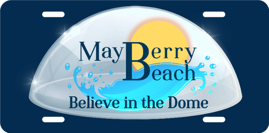 Mayberry Beach License Plate