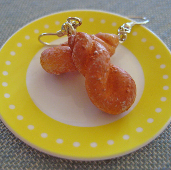 Glazed Donut Earrings