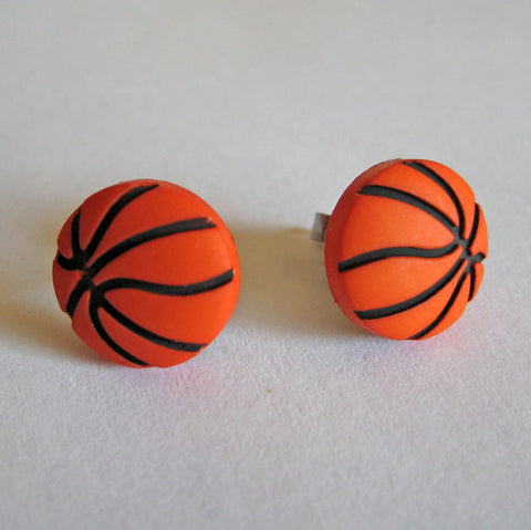 Basketball Earrings