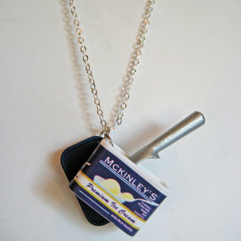 Vanilla Ice Cream Necklace