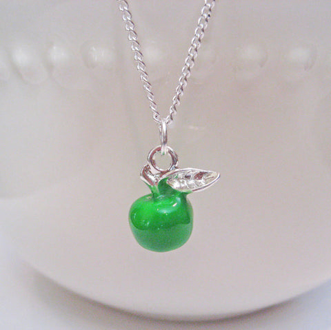 Green Apple Necklace