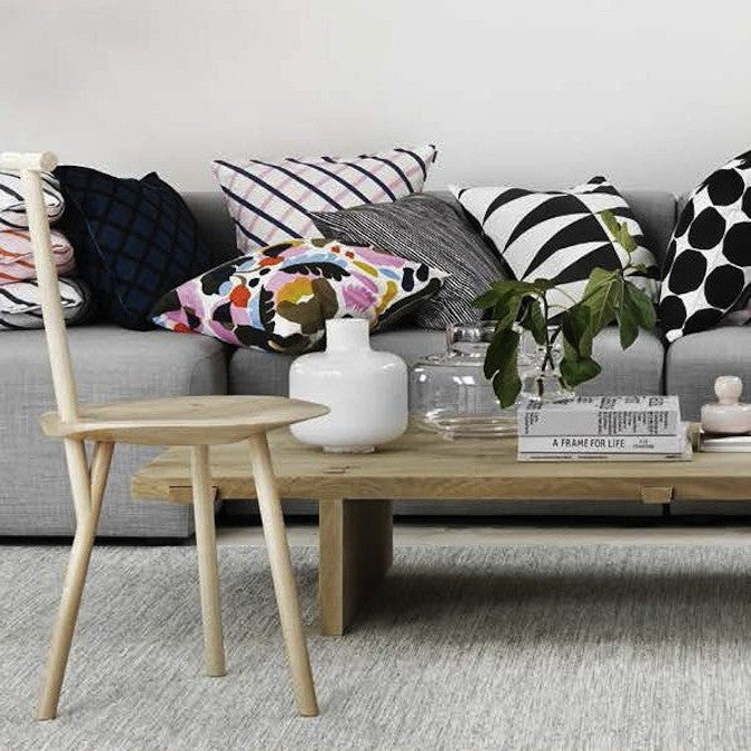 In brief we can say that if you add some Scandinavian retro vibe home textiles to your generally minimalistic and Nordic style home then you get not only excellent everyday life practical accessories but also little pieces of decorative art.